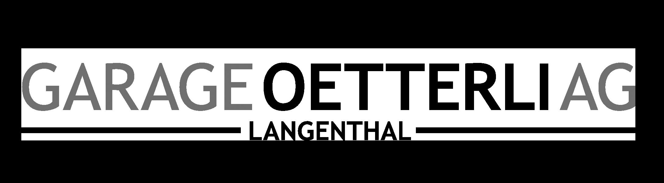 Logo Garage Oetterli AG